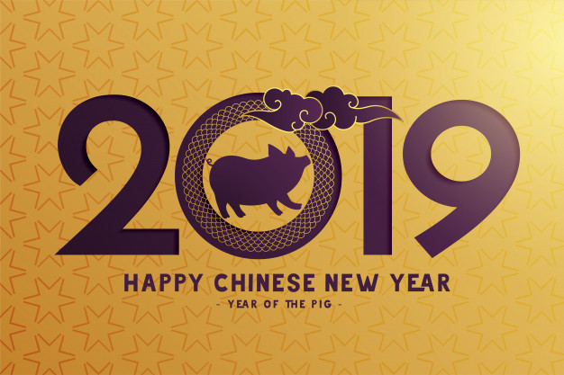 Chinese New Year 2019 - Year of the Pig- Lin Asian Bar Restaurant